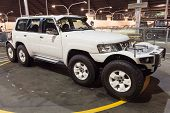 Eight Wheel Nissan Patrol