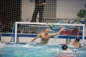 Genova, February, 27: Goran Volarevic  ( Goalie  Bpm Sport Management) In   Brescia - Bpm Sport Mana