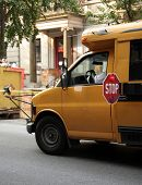 Autobús de la escuela de NY