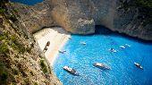Navagio Beach - Shipwreck Beach, Zakynthos Island, Greece