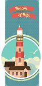 Lighthouse Emblem Card