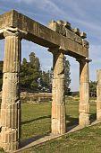 Temple of Artemis of Vravrona at Attica, Greece