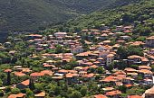 Andritsaina Greek traditional village at Arcadia, Greece