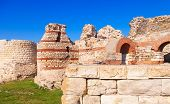 Ruined Walls Around The Nessebar Town, Bulgaria