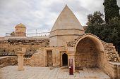 stock photo of mausoleum  - Seyid Yahya Bakuvi - JPG