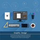 stock photo of tool  - Concept for graphic design - JPG