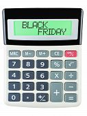 Calculator With Black Friday