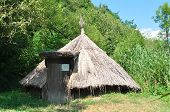 picture of sibiu  - sibiu romania ethno museum village icehouse architecture - JPG
