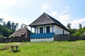 stock photo of sibiu  - sibiu romania ethno museum village house architecture - JPG