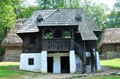 picture of sibiu  - sibiu romania ethno museum village house architecture - JPG