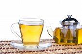 tea in teapot