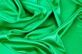 Green silk texture