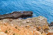 picture of sevastopol  - the Black Sea coast near the city of Sevastopol on a clear sunny day - JPG