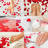Foot And Hand Spa Salon - Collage