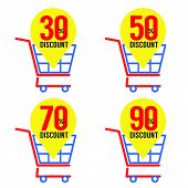 Set Of Shopping Basket Discount.