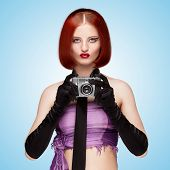 Glamorous Vamp Style.