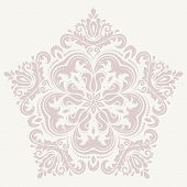 Damask  Pattern. Orient Ornament