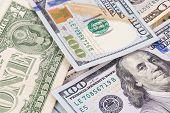 different dollar bills