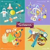 Постер, плакат: Chemistry physics biology
