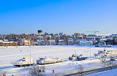Lappeenranta. Finland. Boats on Saima Lake