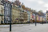 City Center Of Karlovy Vary,czech Republic