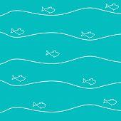 Celadon Fish Background