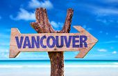 pic of jericho  - Vancouver wooden sign with beach background - JPG