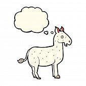 stock photo of donkey  - cartoon donkey - JPG