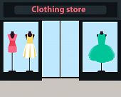picture of dress mannequin  - Showcase women clothing store - JPG