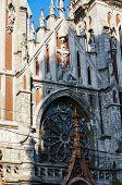 stock photo of kiev  - Detail of the catholic church of St - JPG