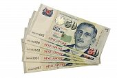 Fifty dollars Singapore note