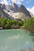 Lago Verde - Green Lake, Courmayeur