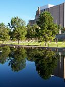 Across The Reflecting Pool