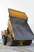 Big Yellow Mining Truck