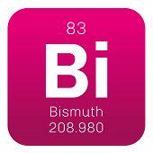 Постер, плакат: Bismuth Chemical Element