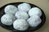 Japanese mochi traditional japanese sweet soft dessert