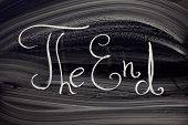 The End. Writings On Classical Blackboard.
