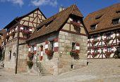 Houses In Imperial Castle Nuremberg