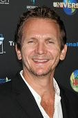 LOS ANGELES - OCT 30: Sebastian Roche arrives at the sCare Foundation Halloween Launch Benefit at Conga Room - LA Live on October 30, 2011 in Los Angeles, CA