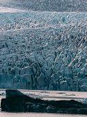 Glacier Lagoon In Iceland. Jokulsarlon Lagoon Beautfiul Shaped Icebergs Lake poster