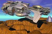 Warlike Spaceship