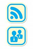 Rss and User Icons