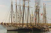 Three Tall Ships In Dana Point