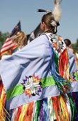 Native American Pow Wow Dancer