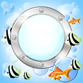 Porthole And Fish