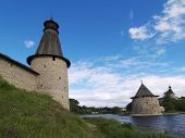 Towers Of Pskov Fort poster