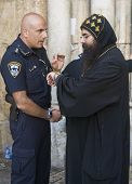 Policeman And Priest