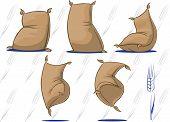 Wheat/Flour Sacks With Personality #2