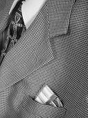Gum In Business Suit