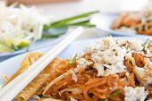 Shrimp And Crap Pad Thai